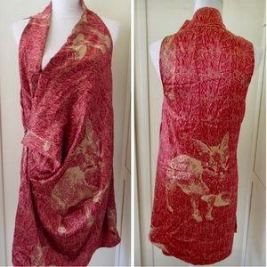 RARE! Corey Lynn Calter Silk Woodland Dress S